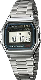 25cf5f35e91b Reloj CASIO A158WA-1R Vintage Collection Digital Retro-Acero