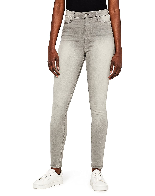 MERAKI Womens Skinny High Waist Jeans