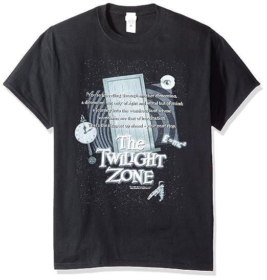 Amazon Trevco Mens The Twilight Zone Monologue T Shirt Clothing