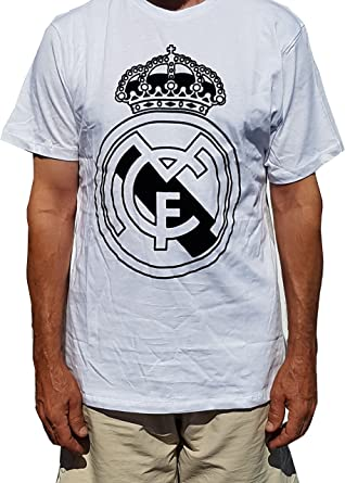Camiseta Blanca con EL Escudo Real Madrid Talla (M) Producto ...