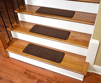 Dean Premium Stair Gripper Non Slip Tape Free Pet Friendly DIY Nylon Carpet Stair  Treads
