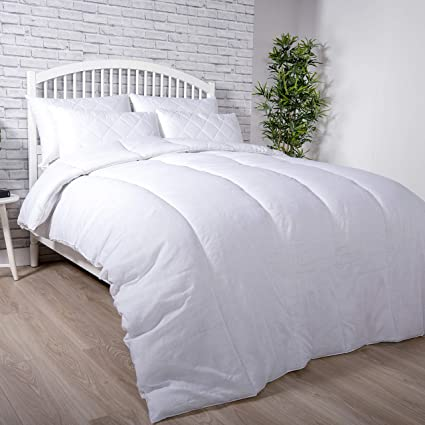 Super Soft Microfibre Duvet 4.5 Tog Lightweight and Summer Duvet