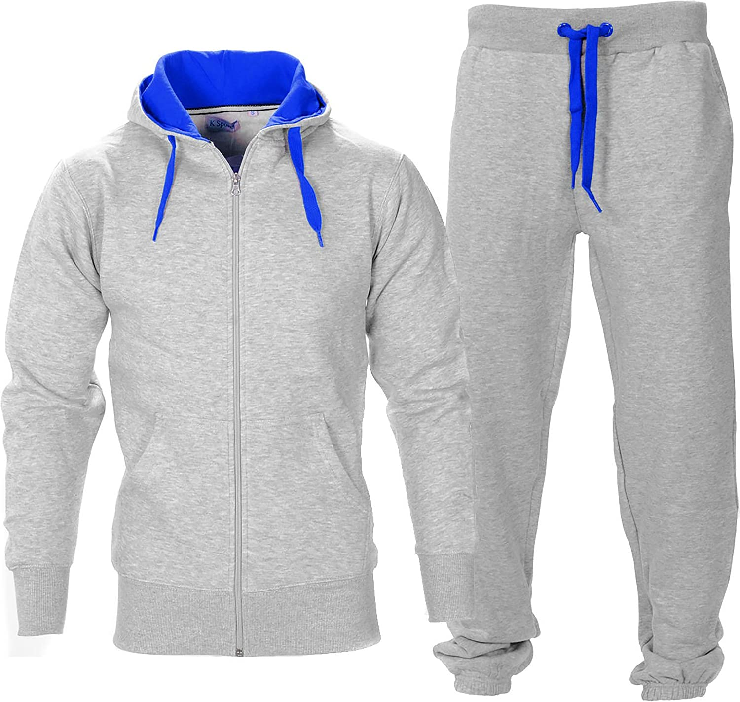 Simply Chic Outlet - Chándal - para Hombre Grigio Argento/BLU M ...