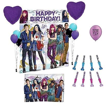 Amazon.com: Descendientes 2 Fiesta de cumpleaños Escena ...