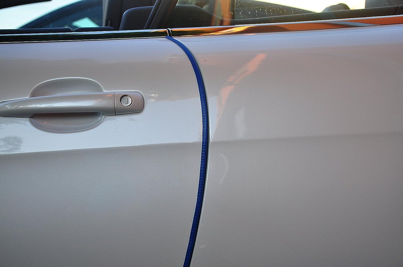 2 Meter T/ürkantenschutz Grau T/ürrammschutz Gummi passend f/ür Ihr Fahrzeug