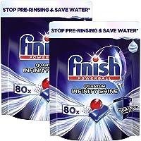 Finish Quantum Infinity Shine Vaatwastabletten - 2x 80 Tabs