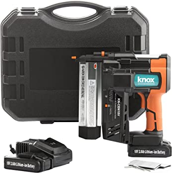 Knox Cordless 18 Gauge Brad Nailer and Stapler Gun