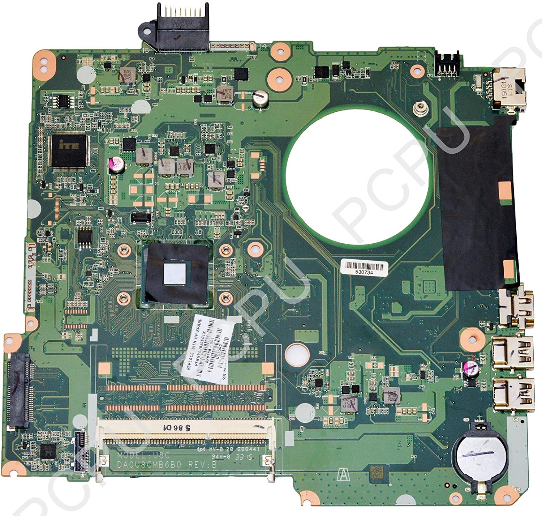 828168-001 HP 15-F Laptop Motherboard w/Intel Celeron N3050 1.6Ghz CPU