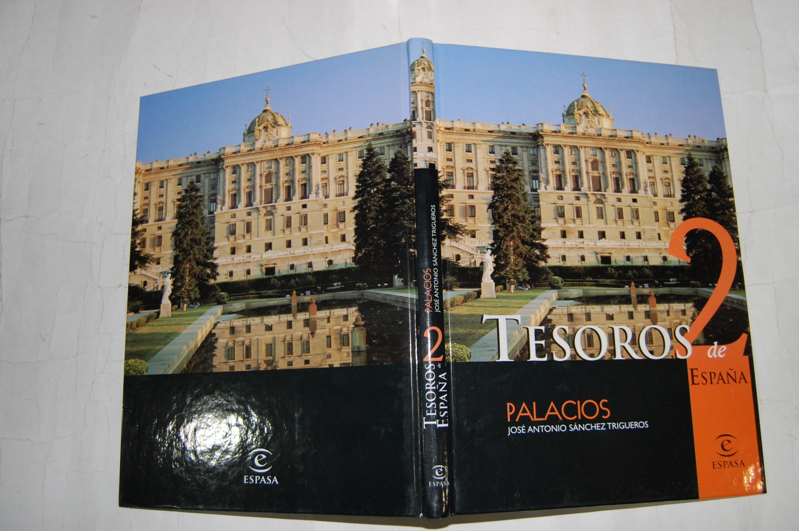 Tesoros de España. 2. Palacios.: Amazon.es: José Antonio Sánchez Trigueros: Libros