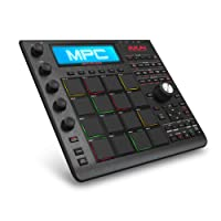 Akai Professional MPC Studio Black | Music Production Controller with 9+GB Sound Library Download [Current Model]