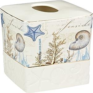 Avanti Linens Antigua Tissue Cover, Multi