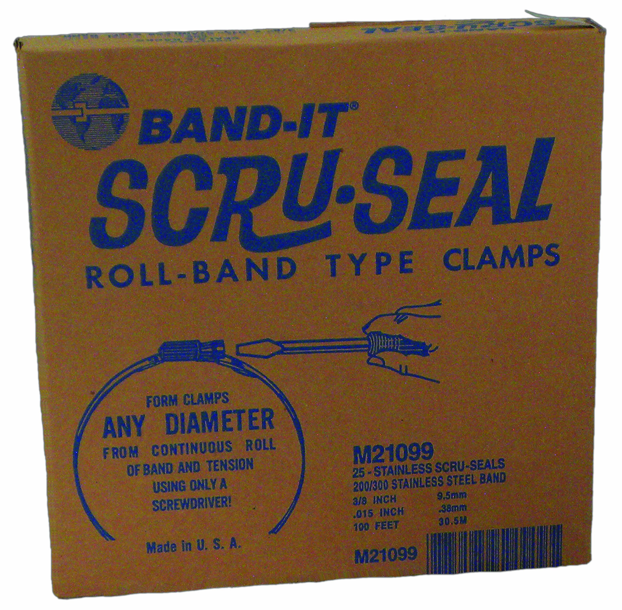 BAND-IT M21099 Scru-Seal Kit by Band-It