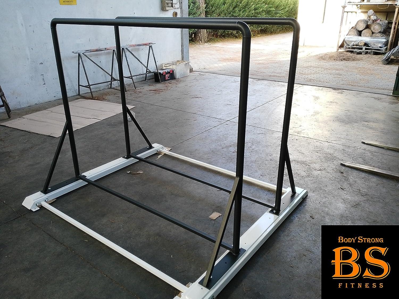 BodyStrongFitness Parallele Calistenich Crossfit Autoporter Dips Tricipiti