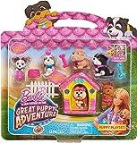 Barbie Adventure Puppy Playset, Pink