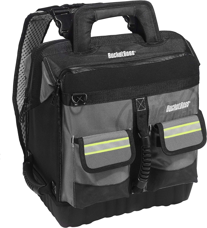 Bucket Boss - HV ProTech Tool Case, Tool Bags - Professional Series (65170-HV), Grey, Black