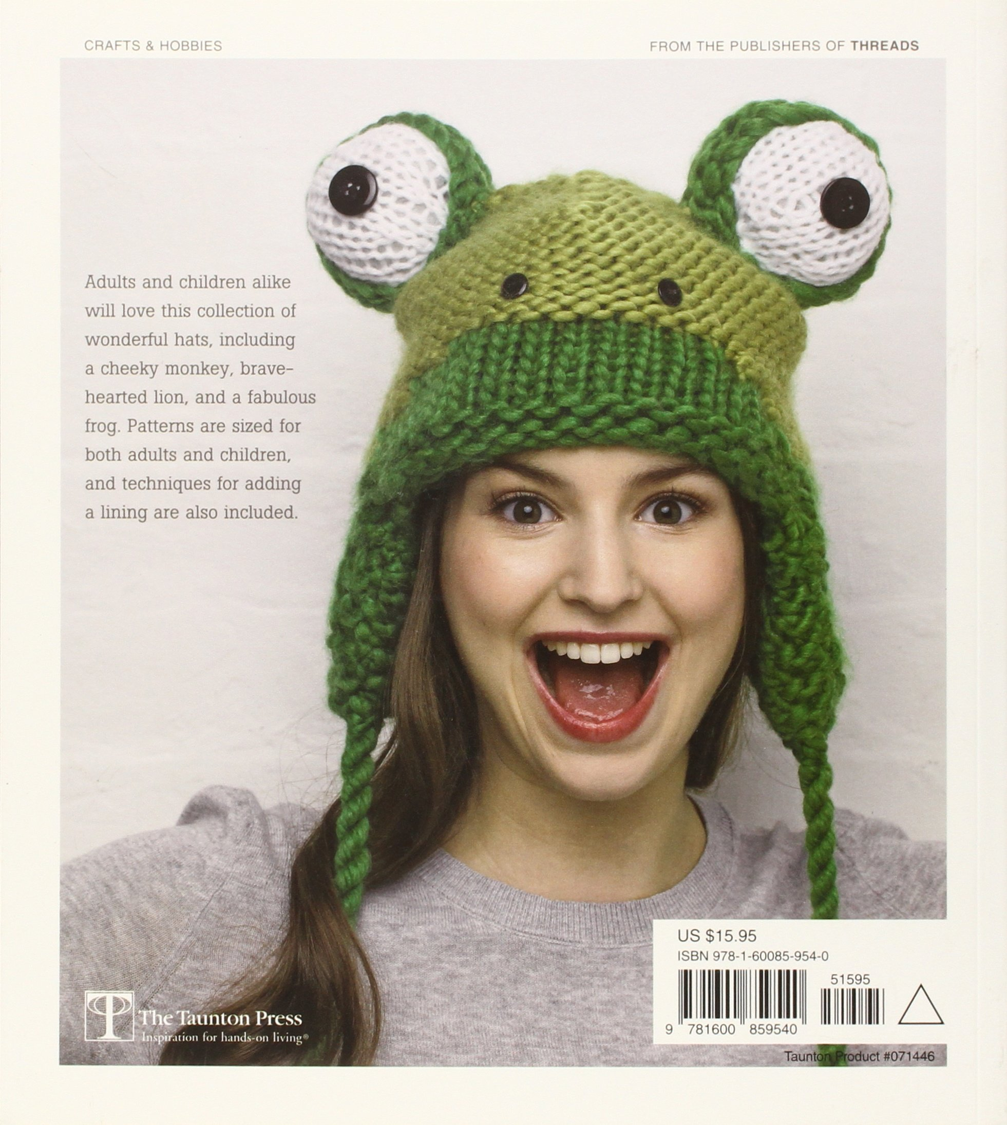 Amazon.com  Animal Hats  15 patterns to knit and show off (0499991617814)   Vanessa Mooncie  Books 5dd1cc7796a