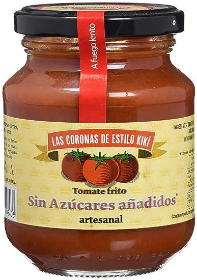 Las Coronas Artesanal Tomate Frito Sin Azucares Añadidos - Paquete de 6 x 300 gr -