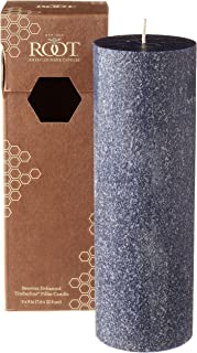 product image for Root Candles Unscented Timberline Pillar Candle , 3 x 9-Inches, Abyss
