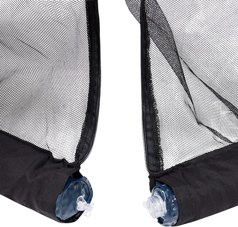 Agfabric 70 -80 Aluminet Shade Cloth Reflective Sunblock Shade for Car Dog Kennel 7x7ft