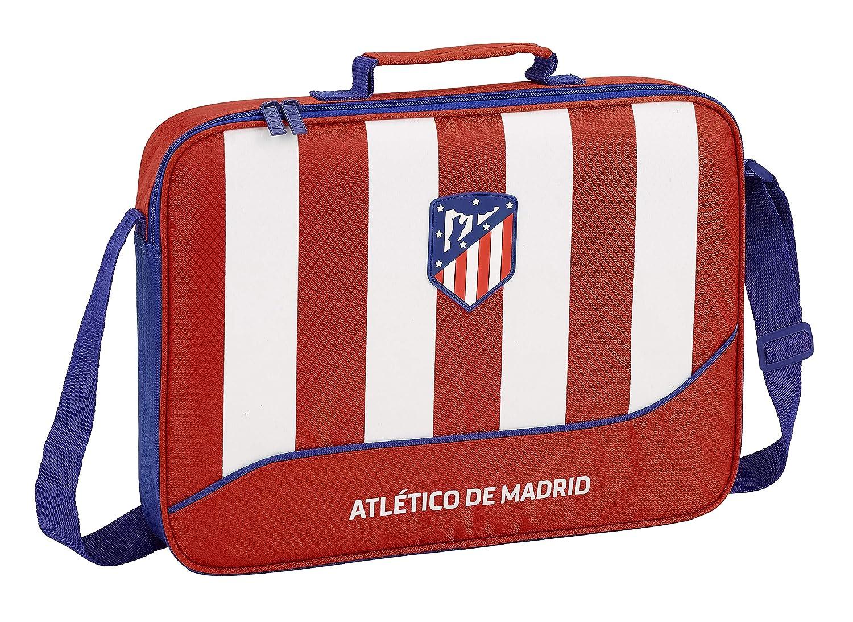 Red Atletico De Madrid 2018 Briefcase 38 cm Rojo