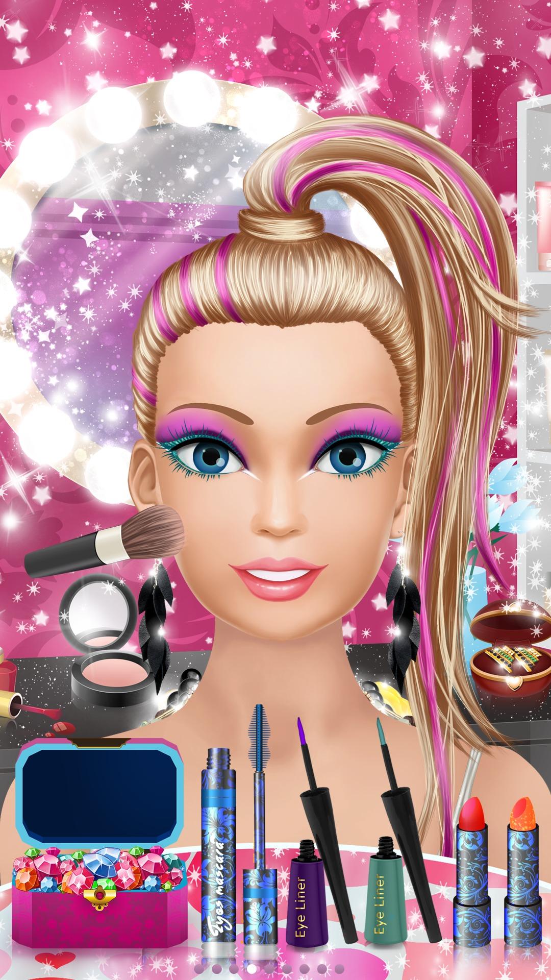 Pop Star Salon Spa Makeup And Dress Up Girls Fashion