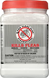 HDP Fleabusters Rx for Fleas Plus 3Lb Kills Roaches Kills Ants Odorless