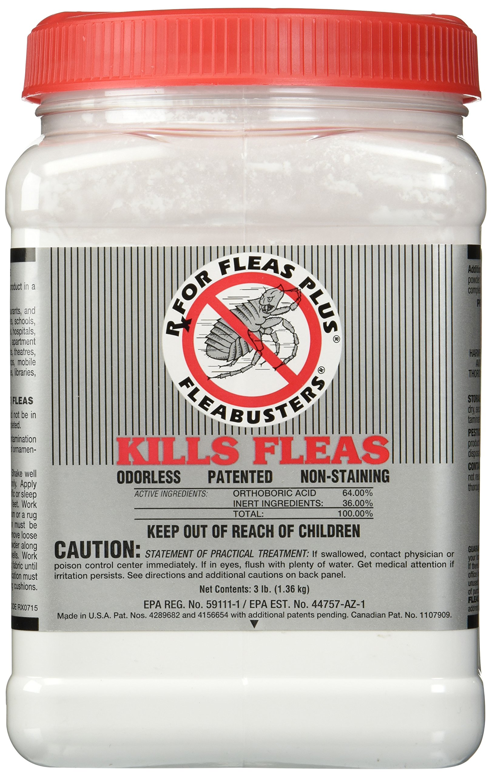 Fleabusters Rx for Fleas Plus, 3 lb by Fleabusters