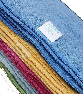 Rainbow gamuza de tela de bambú Toallitas para bebé lavable reutilizable 25