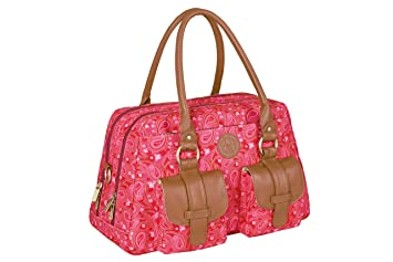0c73f69d6f90 Lassig Vintage Metro Style Diaper Shoulder Bag Handbag Tote-Bag includes  Matching Insulated Bottle...