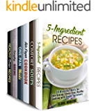 Meals You'll Love Box Set (6 in 1) : Over 180 Recipes with Simple Ingredients to Make in Your Air Fryer, Cast Iron, Slow Cooker and so Much More! (Simple & Delicious)