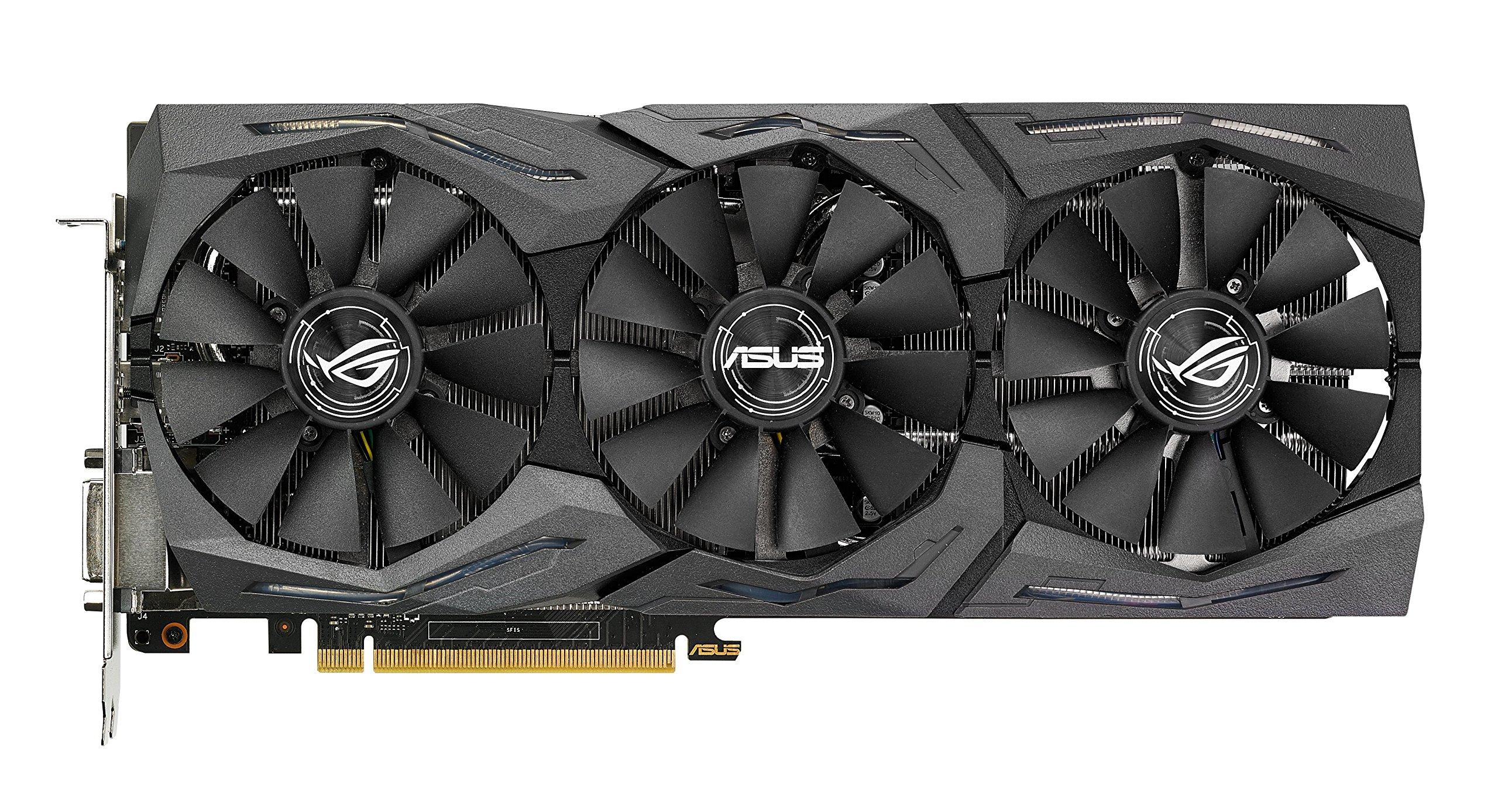 ASUS GeForce GTX 1070 8GB ROG STRIX OC Edition Graphic Card STRIX-GTX1070-O8G-GAMING by Asus (Image #2)