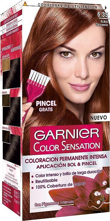 Garnier Coloración Color Sensation Nº6.35 Rubio Caramelo ...