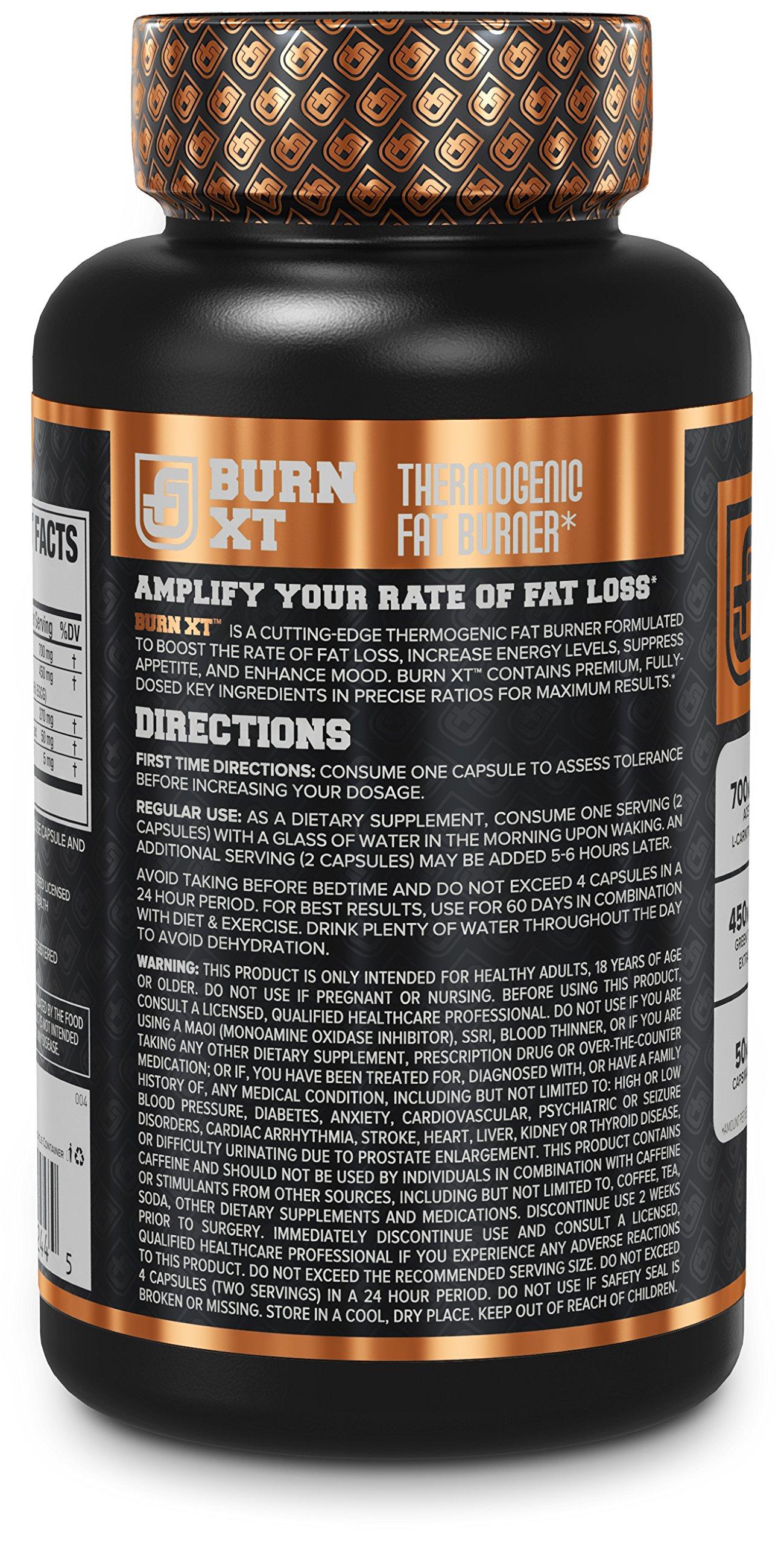 Burn Xt Thermogenic Fat Burner Weight Loss Supplement