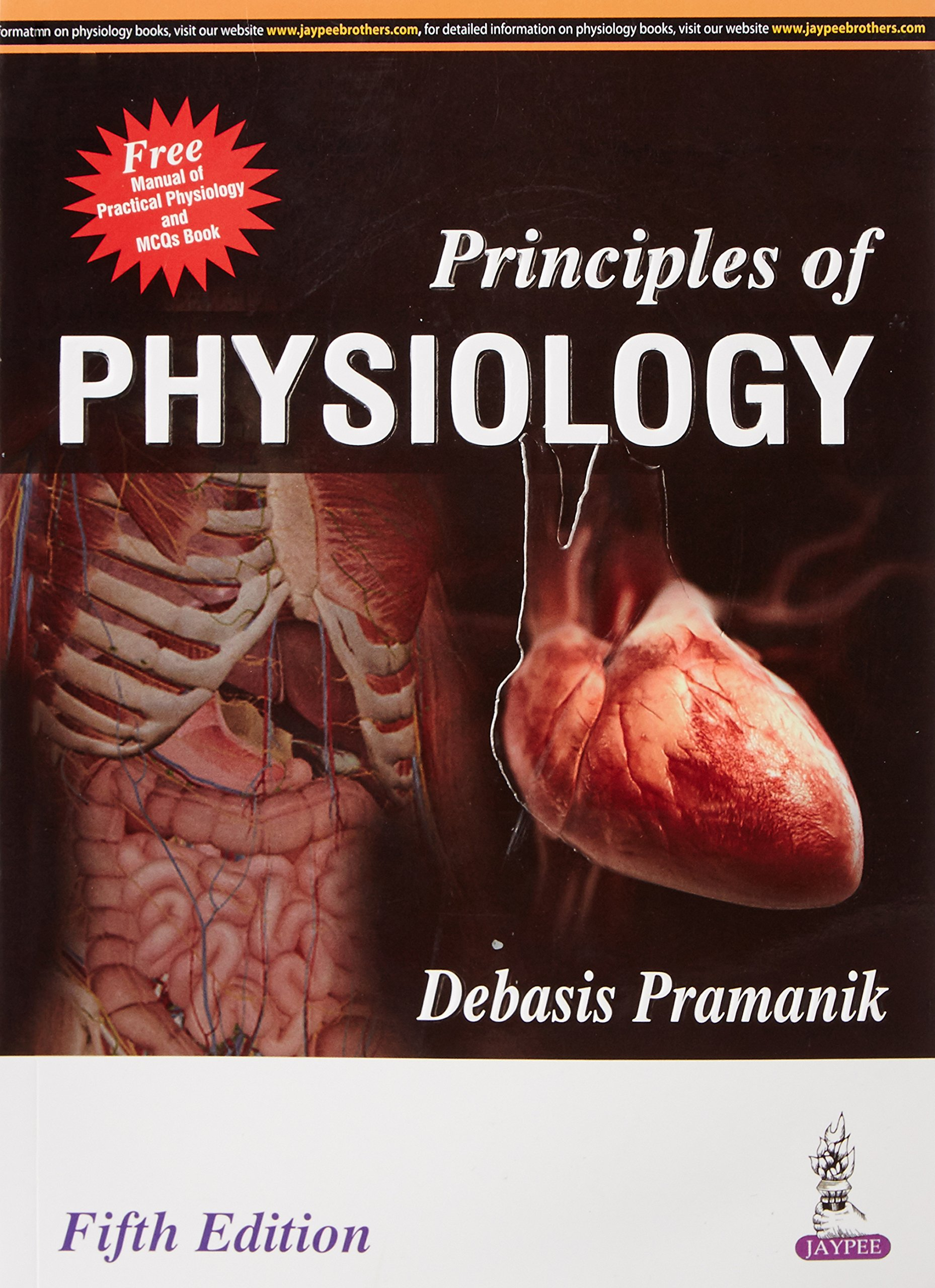 Buy Principles Of Physiology (Free Manual Of Practical Physiology ...