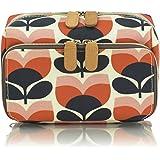 Orla Kiely Flower Stripe Wash Bag, Medium
