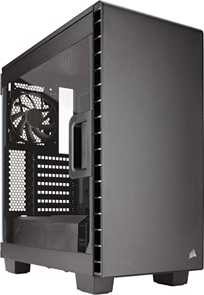 promo code d9851 0a2b2 CORSAIR CARBIDE 400C Compact Mid-Tower Case, Window Side Panel - Black