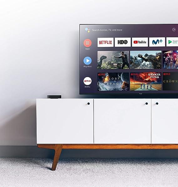 Engel EN1015K, Android TV Box 4K UHD, Asistente de Google Chromecast, Smart TV Box: Engel-Axil: Amazon.es: Electrónica