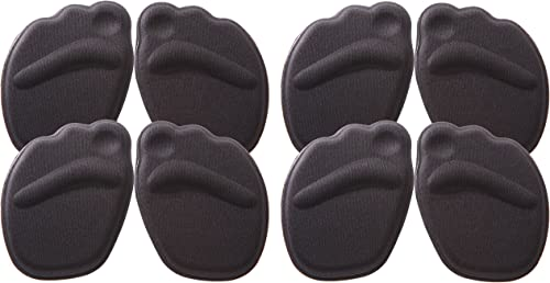 [Phoenix] ハイヒール 用 低反発 衝撃 吸収材 つま先 ハーフ イン ソール 中敷 痛み 防止 防護 中敷 ゆるい 靴の サイズ 調整 にも♪ フィット シューズ ヒール インソール