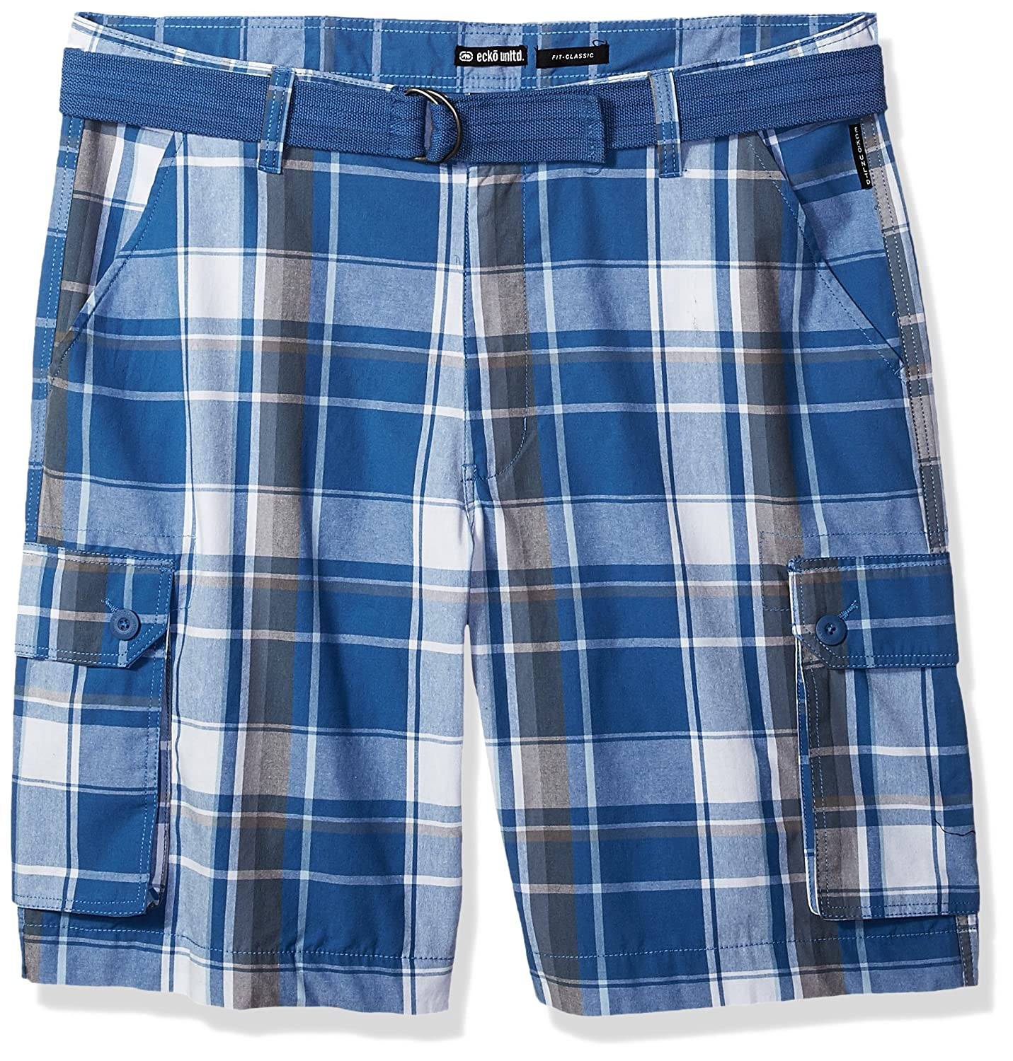 74b0dd2f0a Amazon.com: Ecko Unlimited Men's Belted Cargo Short: Clothing