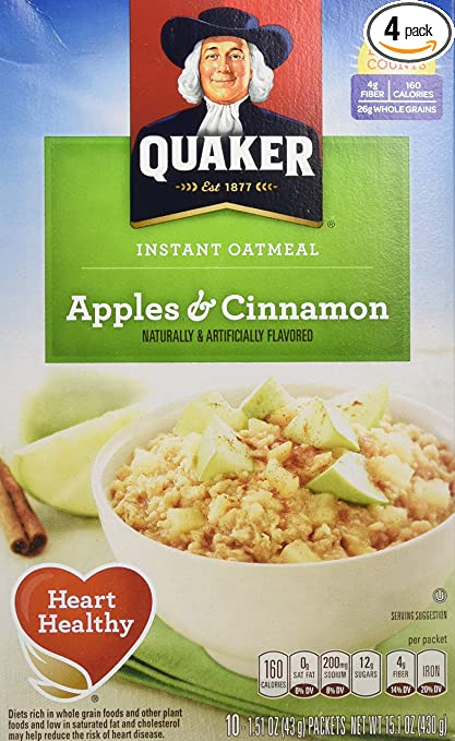 Quaker Instant Oatmeal on Sal.