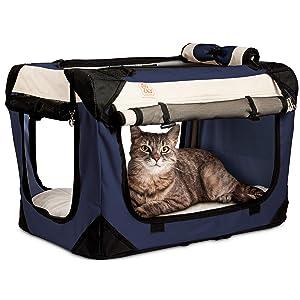 PetLuv Happy Pet Cat & Dog Crate & Carrier