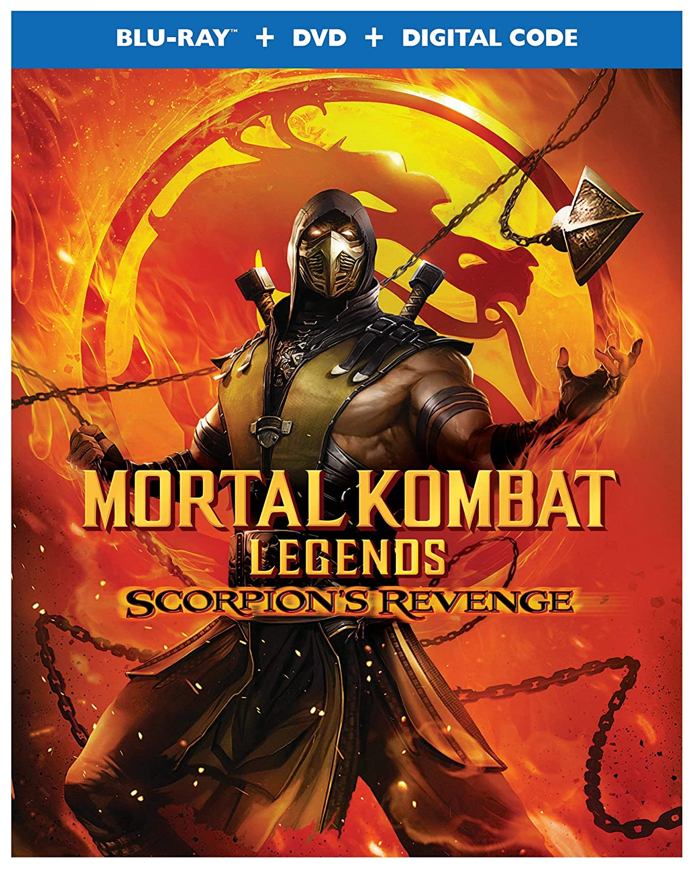 Amazon Com Mortal Kombat Legends Scorpion S Revenge Blu Ray Dvd