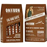 On The Run Fig & Date Energy Bars (Pack Of 6)