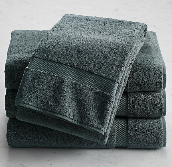 802-Gram Turkish Bath Towel | Color: Slate