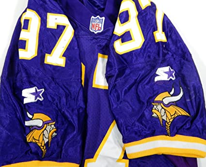 6def9d0f0 Image Unavailable. Image not available for. Color  1996 Minnesota Vikings  97  Game Issued Purple Jersey - Unsigned NFL Game Used Jerseys