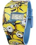 Minions MNS24 - Reloj de cuarzo para niño, con correa de plástico, color amarillo, con diseño de Minions