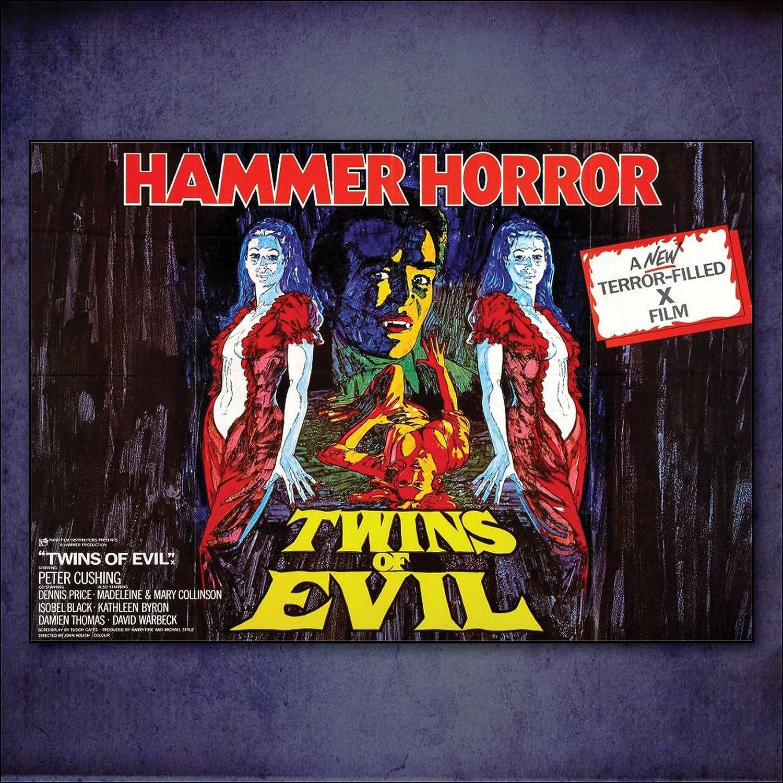 Set of 8 Classic Hammer Horror Dracula Poster Fridge Magnets