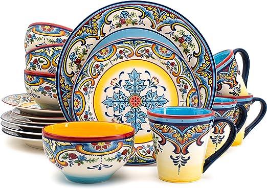 Ceramica Zanzibar 16-Piece Set