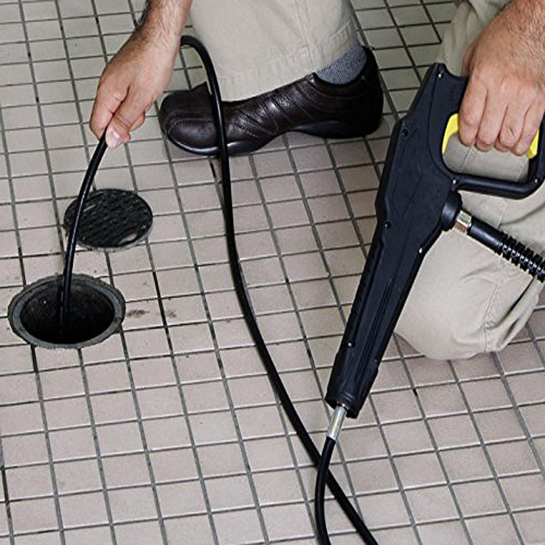 s16 35FT -m22 Pressure Washer Sewer Drain Hose,Sewer Jetter Hose Kit XZT 3000psi Female