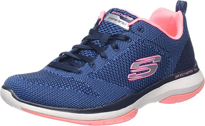 Skechers Damen Burst Tr Close Knit Sneaker: Yn3pR